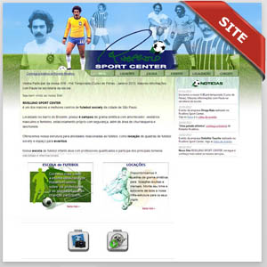 criamos o site do rivellino sport center